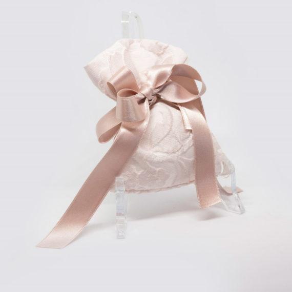 Sacchetto in tessuto di seta modello Camelia