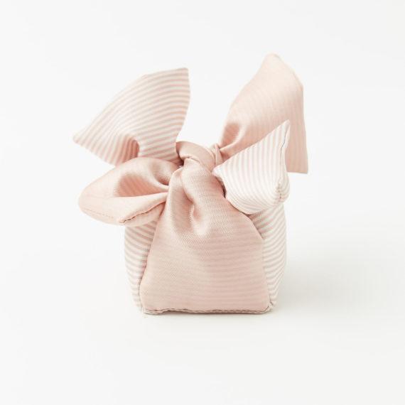Jolly in tessuto rigato rosa