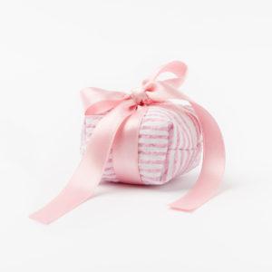 bomboniera pochette con zip