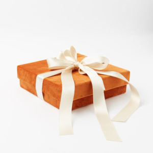 bomboniera scatola velluto