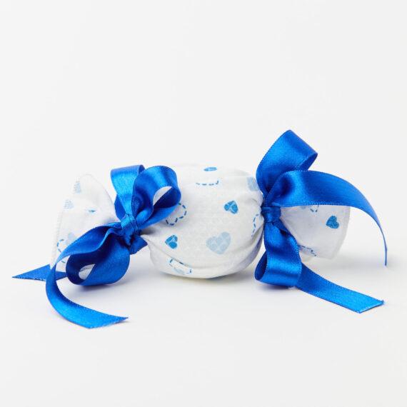 Caramella Modello Cuoricini Baby Azzurra